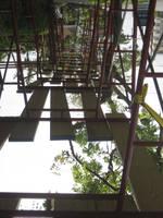 bridge over sky by KimSam-Soon
