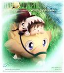 Fuji and Tezuka with Chocobo