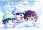 Winter Theme Icing Usagi