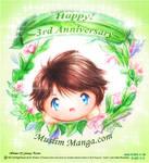 Happy Anniversary Muslim manga 2012
