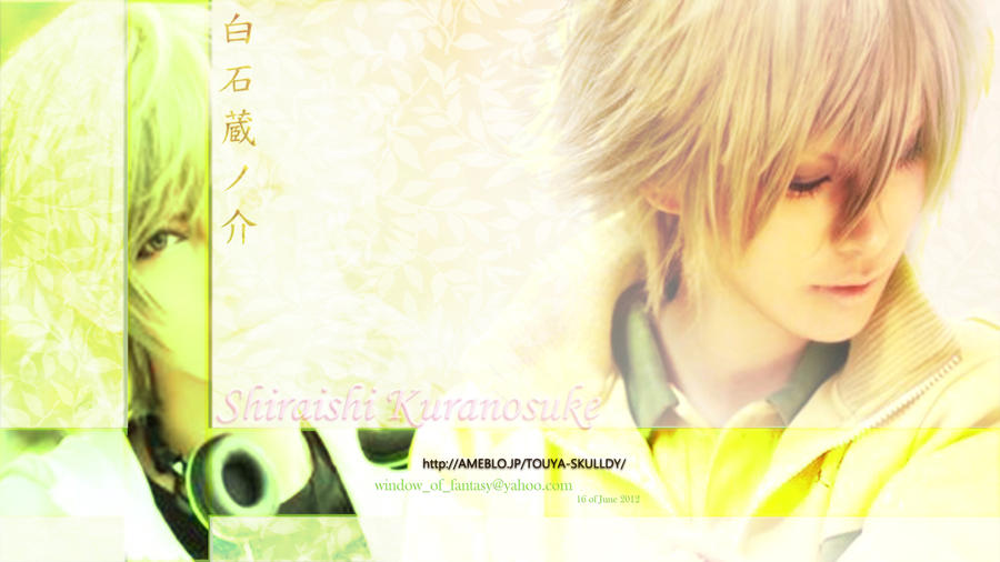 Just Edit Shiraishi Kuranosuke cosplayer Wallpaper by Kauthar-Sharbini