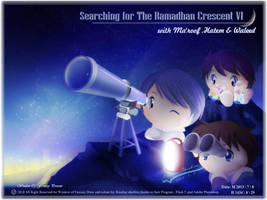 Searching for Ramadan Crescent VI 1434 AH by Kauthar-Sharbini