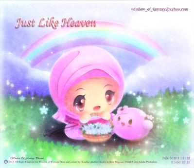 Just like Heaven by Kauthar-Sharbini