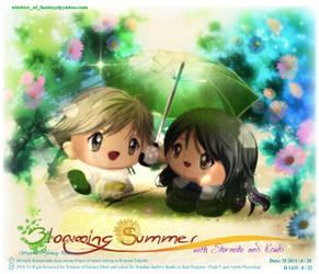 The Blooming Summer with Shiraishi Kouki by Kauthar-Sharbini