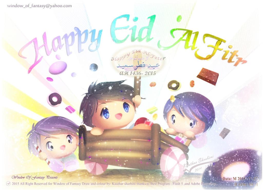 Happy Eid-Alfitr 1436-2015 by Kauthar-Sharbini