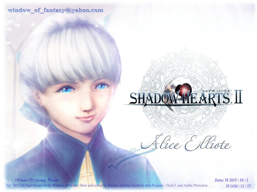Alice Elliot from Shadow hearts by Kauthar-Sharbini