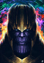 Thanos by yesdanel