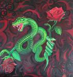 Snake dragon of love