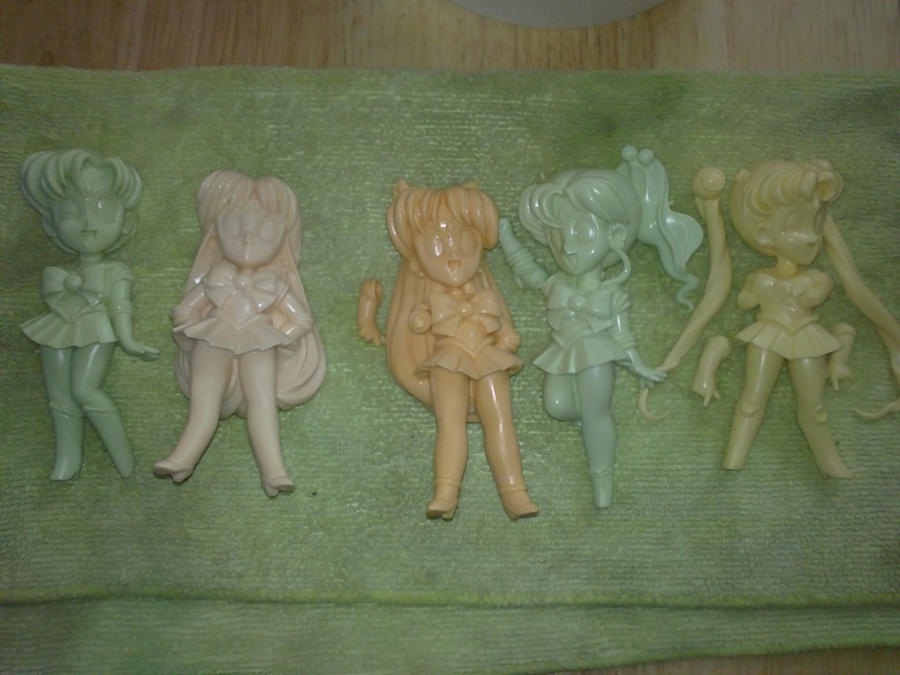 Leonas Little SM Resin Figure collection... and then some :D Sailor_senshi_group_by_leonasenshi-d33d7ds