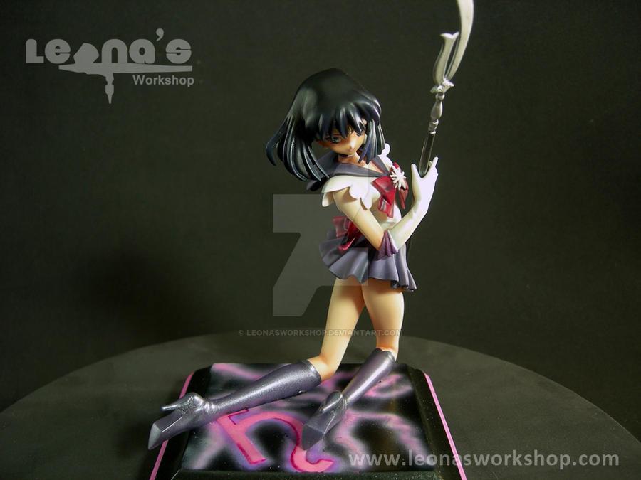 1/8 Sailor Saturn Kneeling Figure by LeonasWorkshop