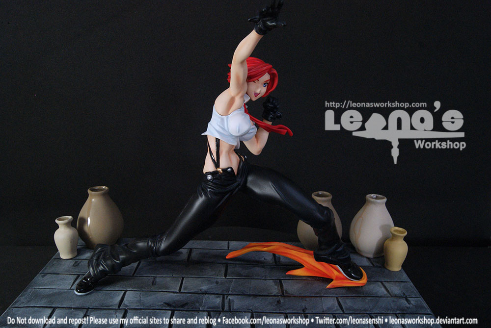 1/7 Vanessa ~ The king of Fighters by LeonasWorkshop