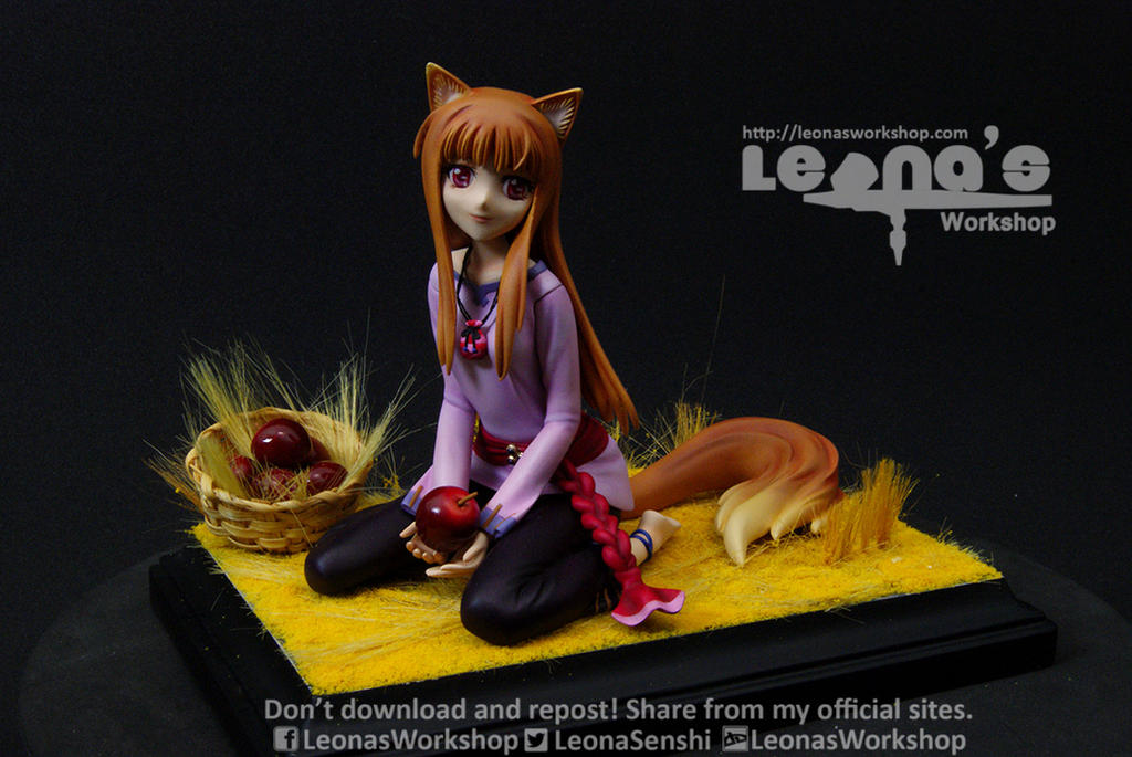 Holo The Wise Wolf by LeonasWorkshop