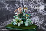Madonna Lily Resin Figure