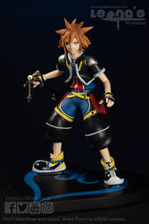 Sora Figure Kingdom Hearts *FOR SALE* by LeonasWorkshop