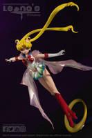 Super Sailor Moon figure by LeonasWorkshop