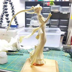 Princess Serenity WIP by LeonasWorkshop