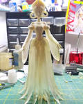 Princess Kakyuu WIP by LeonasWorkshop