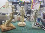 Sailor Moon WIP galore by LeonasWorkshop