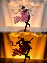 Usagi + Mamoru Masquerade Clear ver. by LeonasWorkshop