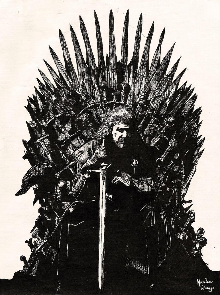 Iron Throne Silhouette Game Of Thrones Throne...