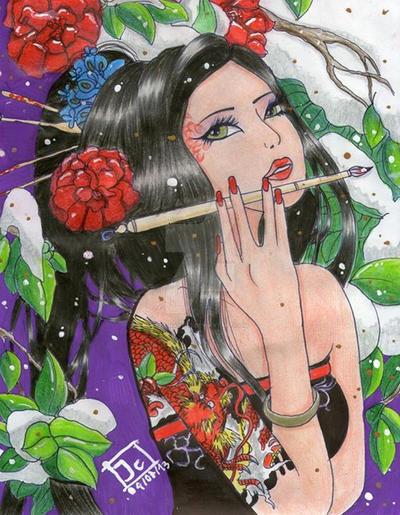 Geisha by Juliian1113