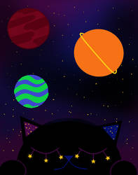 Space Cat by TransBoiRyan