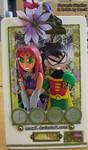 Robin and Starfire - LuV by HeyLookASign