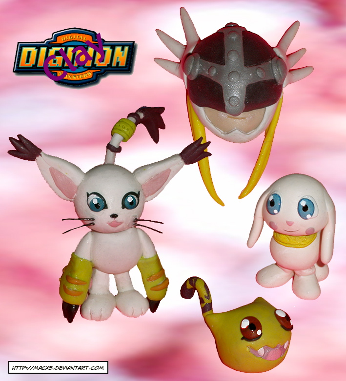 Clay Gatomon Digivolve to by