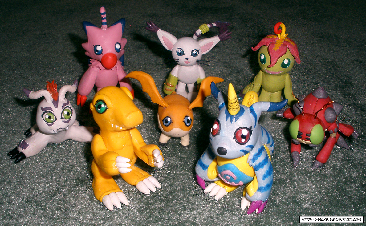 Clay DigiDestined Digimon by HeyLookASign