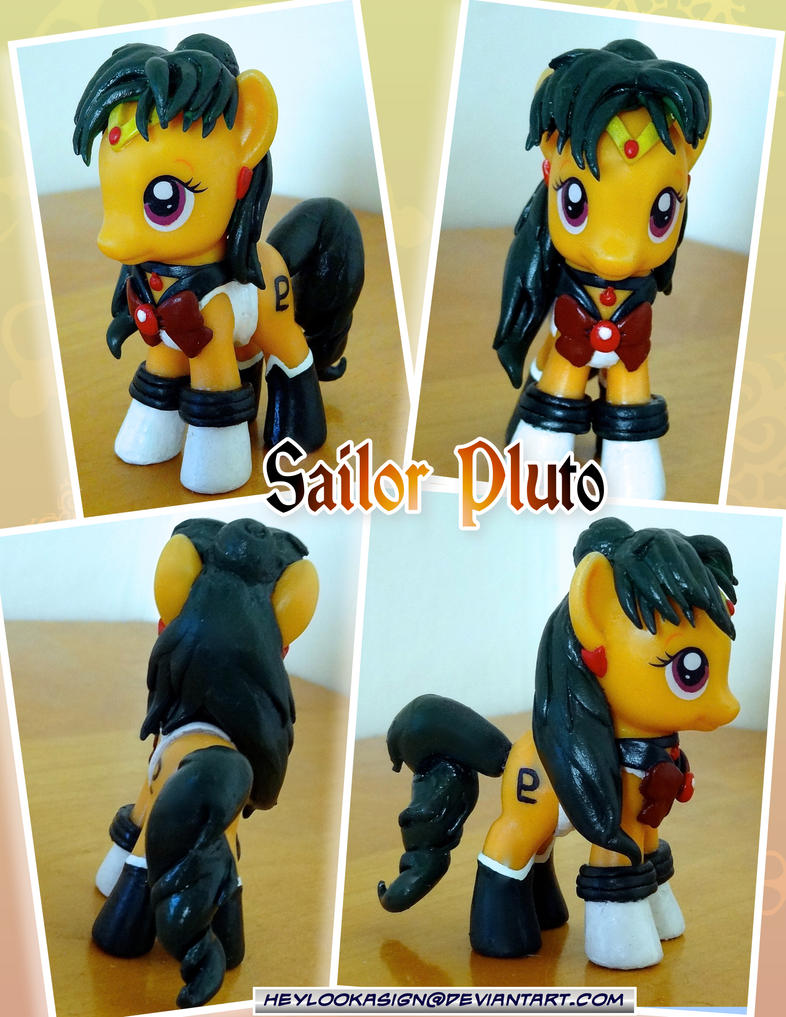 Sailor Pluto Pony by HeyLookASign