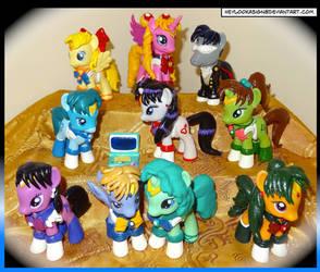 All dem Sailormoon ponies
