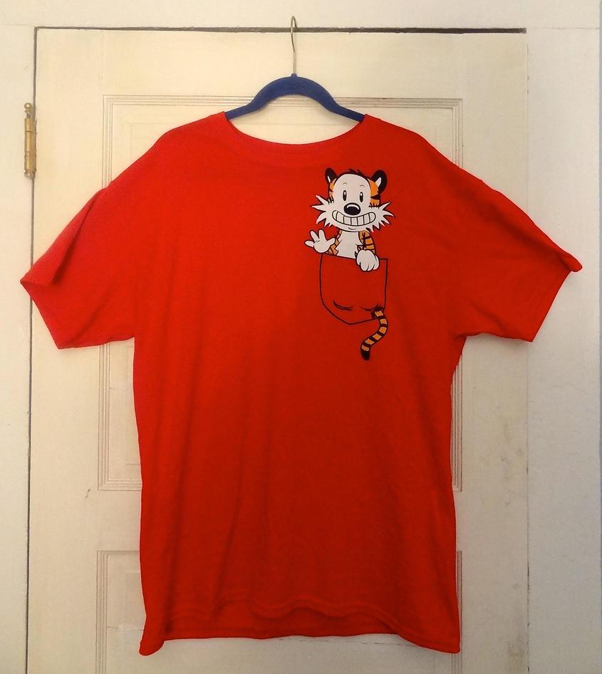 Calvin and Hobbes SHIRT by HeyLookASign