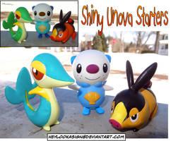 Shiny Pokemon: Unova Starters