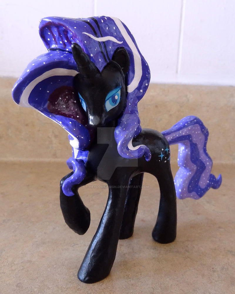 Custom Nightmarity Pony by HeyLookASign
