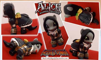 PONY Alice Madness Returns Hatter's Domain Costume