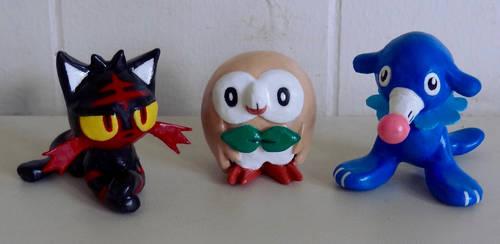 Pokemon SUN MOON CLAY Starters