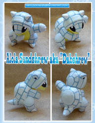 Alola Sandshrew aka DABSHREW