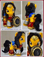 Wonder Woman Custom Pony