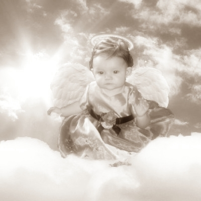 Black and White Angel Baby by metalmonkey77 on DeviantArt