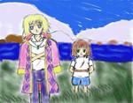 Howl and Haku for Oda