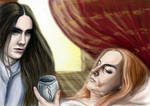 Fingon and Maedhros colored