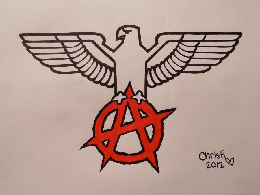 anarchy circle a eagle - photo #27
