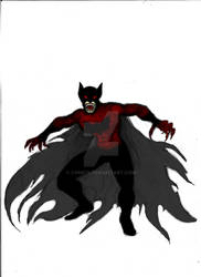 What if Bat Man was a Vampire :P