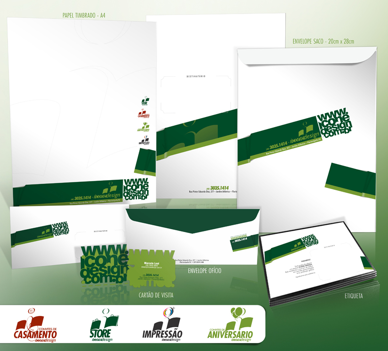 Stationary Icone Design by mxwolff