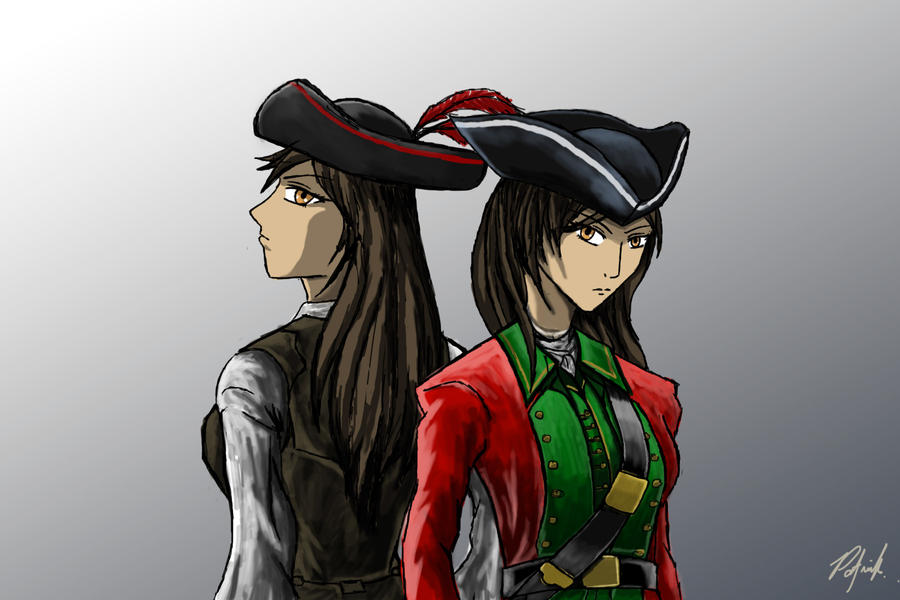 Red Coat and Corsair by patgarci