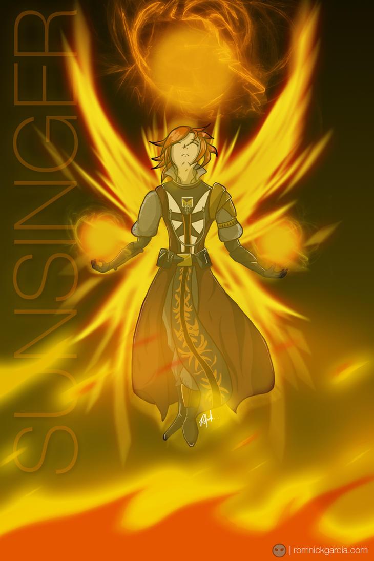 Sunsinger Warlock by patgarci