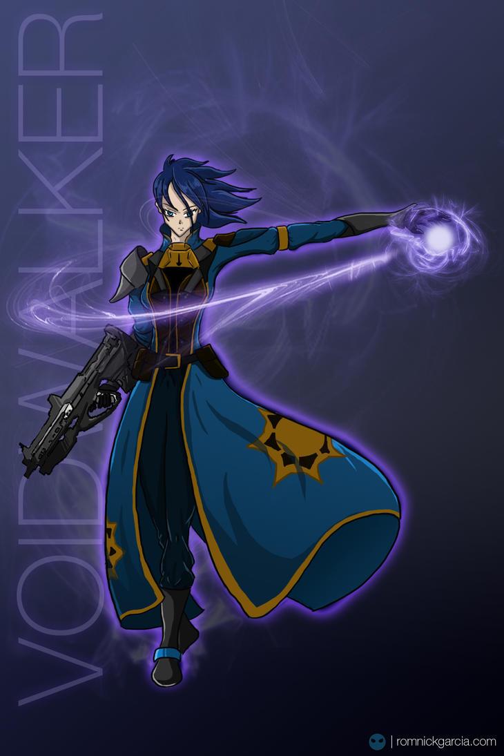 Voidwalker Warlock by patgarci