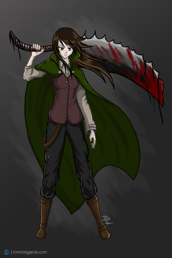 Bloodborne (commission) by patgarci