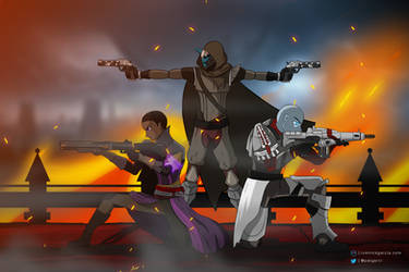 Fireteam Vanguard | Destiny by patgarci