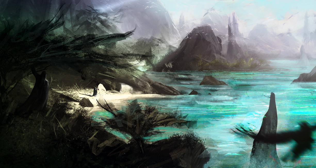 The Shores of Thundermarch by Rrabbstyjke